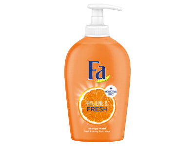 Fa folyékony krémszappan hygiene&fresh orange 250ml