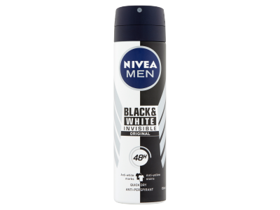 Nivea men black&white inv. orig. izzadásgátló spray 150ml