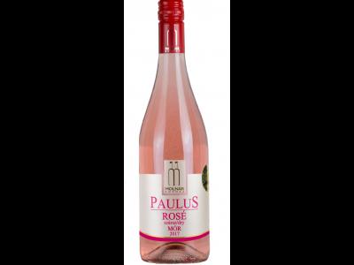 Molnár Paulus Merlot-Pinot Noir sz.rosé bor 2017 12.5% 0.75l