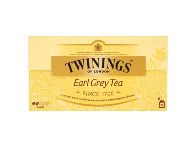 Twinings Earl Grey aromás fekete tea 25x2.5g