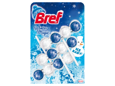 Bref power aktiv ice baby 3x50g