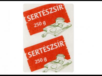 Sertészsír (papírzacskós) 250g