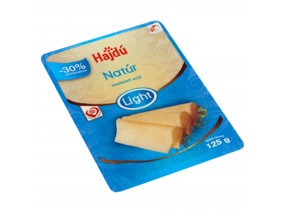 Hajdú trappista sajt light 125g