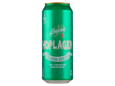 Soproni Óvatos Duhaj Hoplager sörkülönlegesség 4.5% dob.0.5l