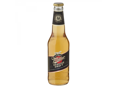 Miller Genuine draft világos sör 4,7% 330ml
