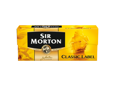 Sir morton tea classic label 20x1.75g