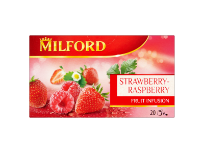 Milford tea eper-málna 20x2.5g