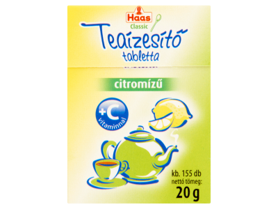 Haas teaízesítő C-vitaminos 20g