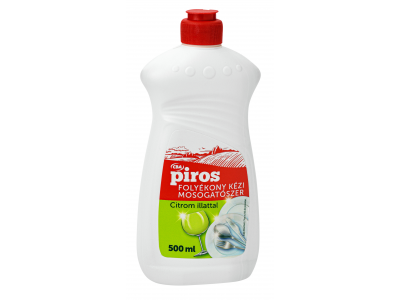 CBA PIROS mosogatószer citrom illattal 500ml