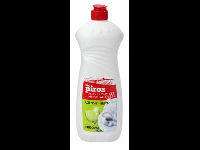 CBA PIROS mosogatószer citrom illattal 1000ml