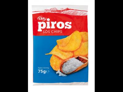 CBA PIROS chips sós 75g