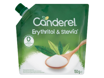 Canderel eritrit alapú édesítőpor steviával 150g
