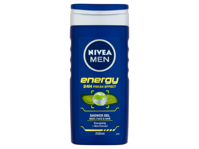 Nivea tusfürdő energy for men 250ml