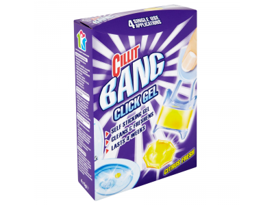 Cillit Bang click gel citrus 1xhasználatos higi.gél 4x5g