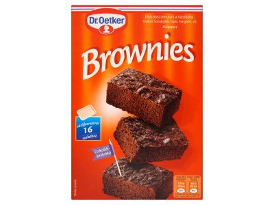 Dr. Oetker Brownies alappor 436g