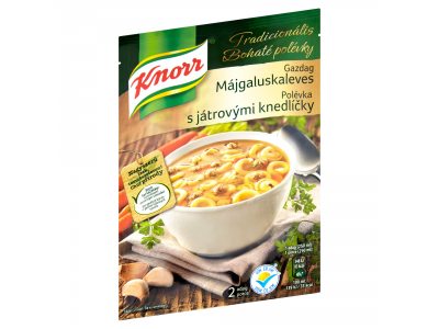 Knorr tradicionális gazdag májgaluskaleves 44g