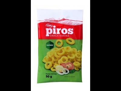 CBA PIROS hagymás kukoricasnack 50g