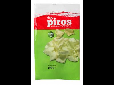 CBA PIROS burgonyaszirom hagymás-tejfölös 100g