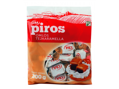 CBA PIROS omlós tejkaramella 200g