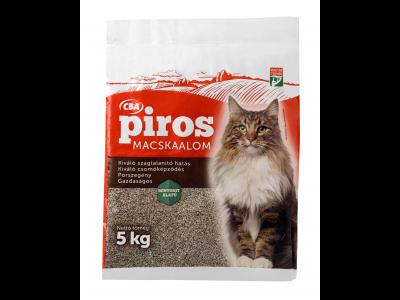 CBA PIROS macskaalom 5kg