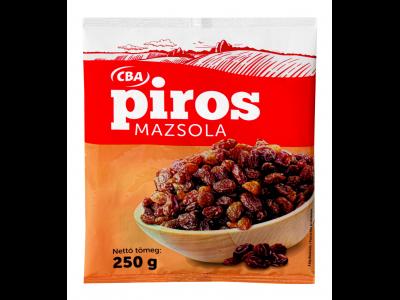 CBA PIROS mazsola 250g