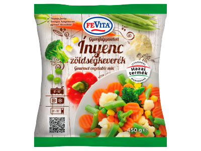 FeVita gyorsfagyasztott ínyenc zöldségkeverék 450g