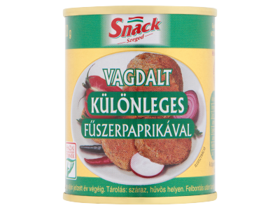Snack Szeged vagdalt különleges fűszerpaprikával 130g