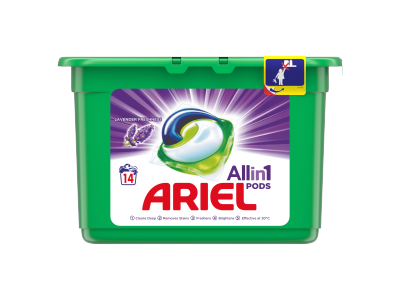 Ariel mosókapszula lavender 3in1 14db