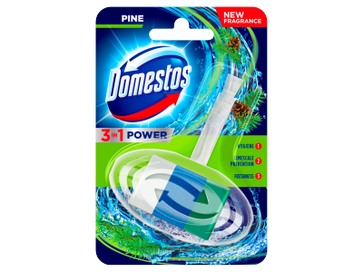 Domestos 3in1 WC-rúd pine 40g