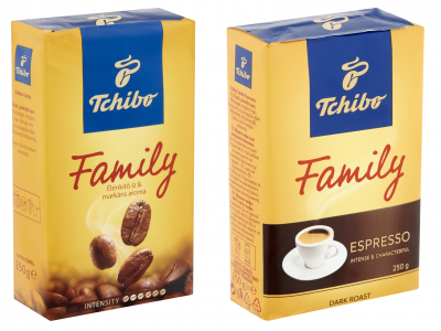 Tchibo Family és/vagy Family espresso 250g 2db