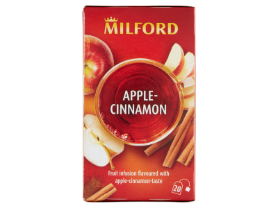 Milford gyümölcstea alma-fahéj ízű 20x2.5g