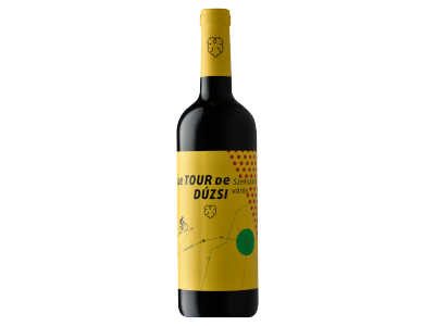 Dúzsi Tour De Dúzsi száraz vörösbor 2015 12.5% 0.75l