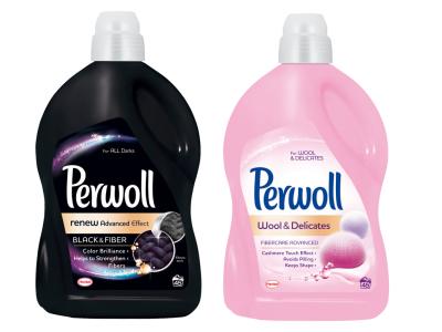 2db Perwoll folyékony mosószer 2,7l