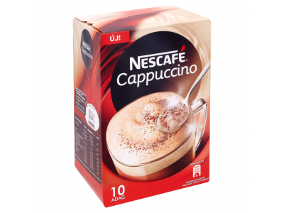 Nescafé cappuccino sovány tejporral 10x13g
