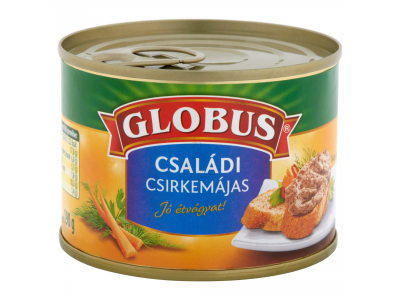 Globus családi csirkemájas tpz. 190g