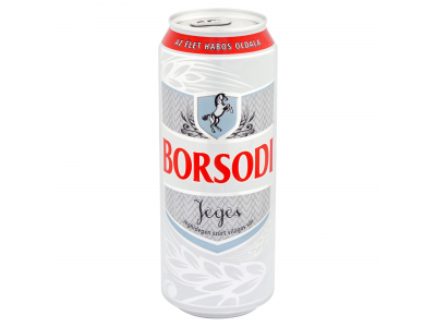 Borsodi világos sör jeges doboz 0,5 l