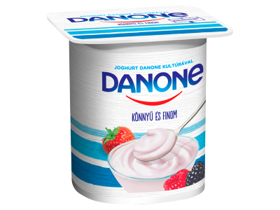 Danone könnyű és finom joghurt erdei gyümölcs 125g