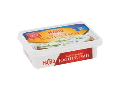 Hajdú joghurtsajt mediterrán natúr 180g