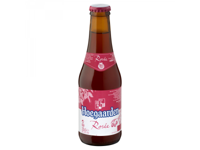 Hoegaarden Rosée szűretlen fehér sör málnával ízes. 3% 0.25l