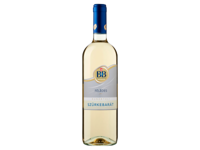 BB Szürkebarát félédes fehérbor 11,5% 0,75l