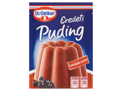Dr. Oetker Eredeti Puding csokoládé-rumízű 49g