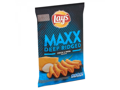Lay's Maxx burgonyachips sajtos-hagymás 65g