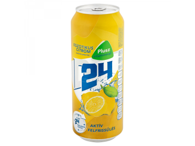 Dreher 24 egzotikus citrom+vitamin dobozos sör 0.5l