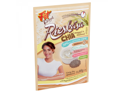 Fit reggeli rizskása Chia mag,inulin,30%-kal csökk.cuk.60g