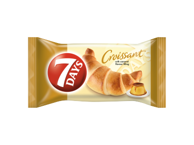 7Days midi croissant karamell 60g