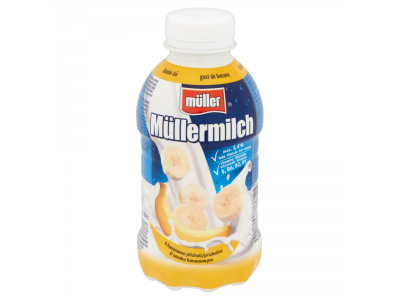 Müller banános tej 377ml