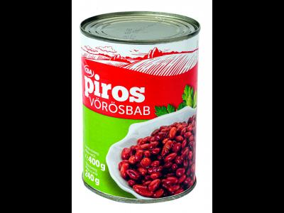 CBA PIROS vörösbab 400g/240g