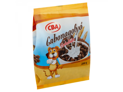 CBA gabonapehely csokoládés 250g