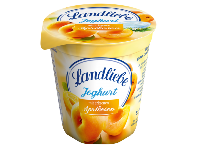 Landliebe kevert joghurt sárgabarack 150g
