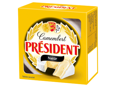 Président natúr camembert sajt 90g